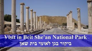 Beit Shean Israel  city photos gallery : Beit She'an National Park, Israel history. Scythopolis. גן לאומי בית שאן. סקיתופוליס