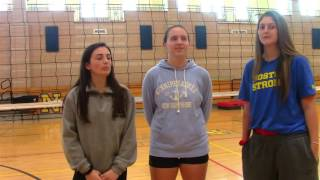 Interview With Girls Volleyball Captains
