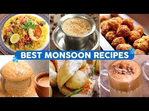 Best Recipes for Monsoon Cravings | Vada Pav | Filter Coffee | Ragada Pattice | 7 Tasty Foods