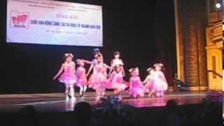 nhảy múa hiện đại CHẮP CÁNH ƯỚC MƠ