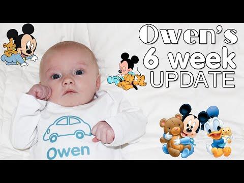 Baby Owen's Favorite Toy - 6 Weeks Old Update