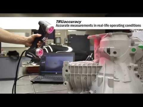 【3D Scanner】HandySCAN 3D|真正便攜的計量級 3D掃瞄器