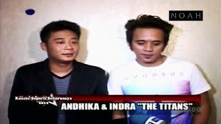 Komentar Ex-Peterpan - Andika, Indra, Q Bil at Konser NOAH Seperti Seharusnya