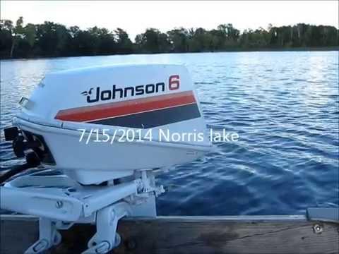 видео лодочных моторов johnson