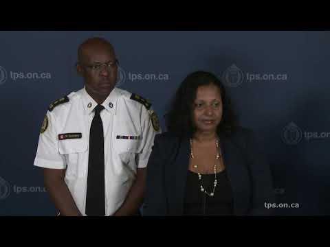 Toronto Police / TPSB News Conference | LiveStream | Thursday, Sept.19th, 2019 | 5:30PM