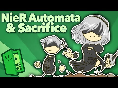NieR: Automata - Sacrifice and the Meaning of Kindness - Extra Credits (видео)