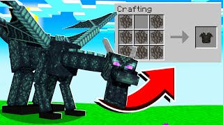 CRAFTING Dragon Scale Weapons in Minecraft
