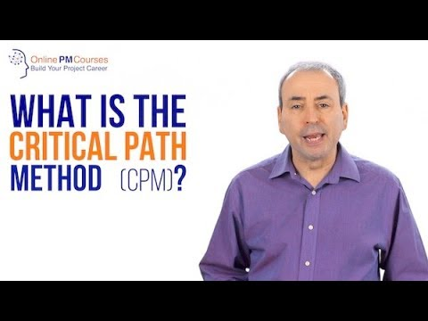 THe Critical path method (CPM) in Project Management