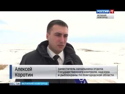 На озере Ильмень сотрудники рыбоохраны провели очередной рейд