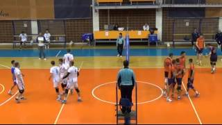 Lazar Cirovic Outside hitter - Orange No.4 Season 2015/16