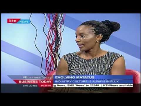 Business Today: Ruth Gichuhi,Marketing Manager-AA analyzes the Evolving Matatus, 28th June 2016