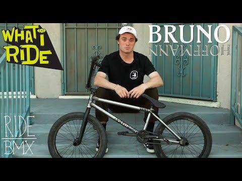 BRUNO HOFFMANN - WHAT I RIDE (BMX BIKE CHECK)