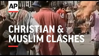 Download Video INDONESIA: MALUKU PROVINCE: CHRISTIAN & MUSLIM CLASHES MP3 3GP MP4