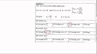 تصحيح الأسئلة 2-3-4- من مباراة ولوج ENSA-2014