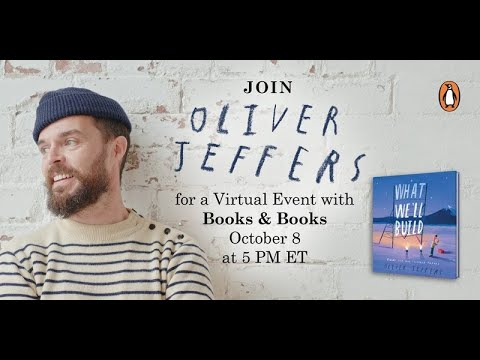 A Virtual Evening with Oliver Jeffers