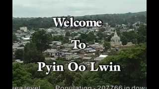Pyin Oo Lwin Myanmar  city photo : Pyin Oo Lwin, Myanmar - ASEAN ESC Award 2011