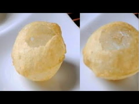 Pani Puris or Golgappas or Puchka  Recipe Video - Chaat - Part 1