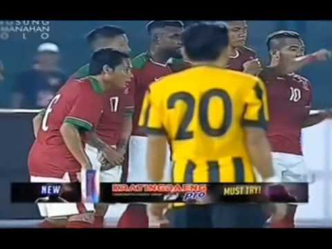 INDONESIA VS MALAYSIA ( 3 - 0 ) FT - 6 SEP 2016 - STADION MANAHAN SOLO