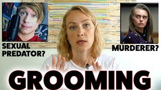Grooming is when someone builds an emotional relationship with a child to gain their trust for the sole purpose of sexual abuse or sexual exploitation. Children or young people can be groomed by someone they know or even someone they have only met online. Austin Jones deserves to be in prison for what he did to those girls. Remember that if anyone tries to make you do something you are uncomfortable with, speak up and tell someone about it. Grooming is something we often don't even realize is happening, and it's done by people we look up to and think we can trust. If you are a parent of a child, make sure you don't leave them alone with anyone that you don't know well or trust, and always check in with your child so they know they can tell you if something odd is happening. The second story I want to cover is about the conviction of Michelle Carter for encouraging her boyfriend, Conrad Roy, to kill himself via text messages. I wanted to talk about this story because I want to remind you all to be careful who you put on your list to call during a hard time. We are so vulnerable when we reach out and need support. Make sure the people on your list are ones you can trust and who want you to feel better and fight harder against those nasty voices. I would encourage you to have a reputable source to reach out to as your first call. This could be a therapist, school counselor, best friend who has always encouraged us, a family member who wants us to get better, suicide hotline, crisis text line etc. Whomever it is, make sure they only encourage positive change and health. xox Please share! You never know who this could help. Phil's video: https://youtu.be/UJZY8e1rKGQReport child abuse: https://www.ceop.police.uk/safety-centre/ (for the UK) https://www.childwelfare.gov/topics/responding/reporting/ (in the states)Resources:https://www.nspcc.org.uk/preventing-abuse/child-abuse-and-neglect/grooming/https://www.7cups.com/http://www.crisistextline.org/http://www.katimorton.com/counseling-and-prevention-resources/----------------------------------------------------------------------------------------------------------------****PLEASE READ****If you or someone you know is in immediate danger, please call a local emergency telephone number or go immediately to the nearest emergency room.------------------------------------------BIG THANK YOU to my Patreon Patrons!  Without you, I couldn't keep creating videos. xoxo https://www.patreon.com/katimorton---------------------------------------------------------I'm Kati Morton, a licensed therapist making Mental Health videos - Depression, Eating Disorders, Anxiety, Self-Harm and more! Mental health shouldn't have a stigma attached to it. You're worth the fight! ------------------------------------------------------------------------------------New Videos every Monday and Thursday! Visit http://www.katimorton.com for community support! MERCH! https://store.dftba.com/collections/kati-mortonPATREON https://www.patreon.com/katimortonTWITTER http://www.twitter.com/katimortonFACEBOOK http://www.facebook.com/katimorton1TUMBLR http://www.katimorton.tumblr.comPINTEREST http://www.pinterest.com/katimorton1Subscribe! http://bit.ly/2j2frsv----------------------------------------------------------------------------------------------------------------Business email: linnea@toneymedia.com ----------------------------------------------------------------------------------------------------------------SENDING KATI STUFFPO Box1223 Wilshire Blvd. #665 Santa Monica, CA 90403----------------------------------------------------------------------------------------------------------------HELP! SUBTITLE VIDEOS http://goo.gl/OZOQXi Subtitle videos if you know English or any other languages! You can help people who are either hearing impaired or non native English speaking. By doing this, you are helping others and strengthening our community.----------------------------------------------------------------------------------------------------------------MY FREE WORKBOOKSEasy to follow at home workbooks for your mental health....Self-Harm workbook  http://goo.gl/N7LtwUEating Disorder workbook  http://goo.gl/DjOmkCLGTBQ workbook  http://goo.gl/WG8jcZ----------------------------------------------------------------------------------------------------------------KATIFAQ VIDEOSWondering if I have answered a question like yours?Search for it here: http://goo.gl/1ECSlOHelp us caption & translate this video!http://amara.org/v/7wJQ/