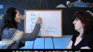 Plural Nouns, Lessons for Beginners 30
