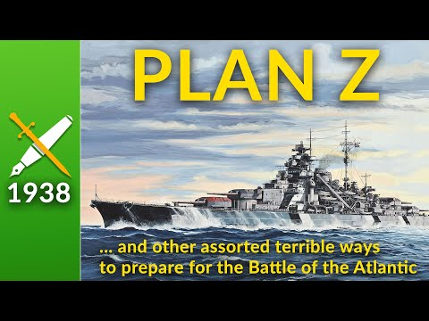 Plan Z, Or How Not To Prepare For The Battle Of The Atlantic