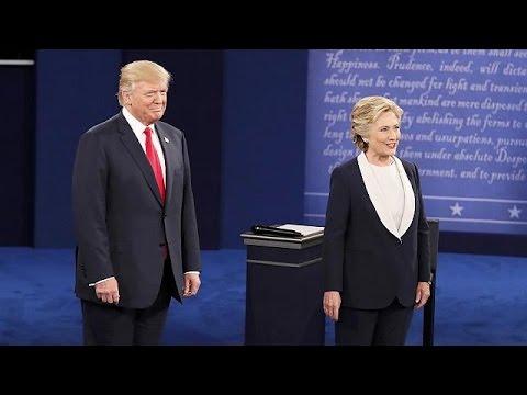 Αντίστροφη μέτρηση για την τελευταία τηλεμαχία Κλίντον-Τραμ