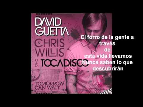 David Guetta Tomorrow Can Wait (En Español)