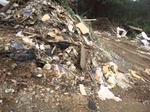 Situação do terreno na secretaria de obras em Pinheiral 03//10/2013
