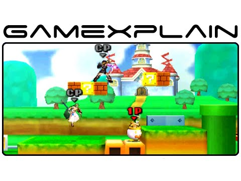 3ds - http://www.GameXplain.com We play a match on the Super Mario 3D Land stage in Super Smash Bros 3DS and check out all 3 sections! • Follow GameXplain on... ...Facebook: http://www.facebook.com/ga...