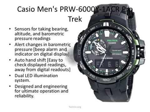 Top 10 Casio Protrek Reviews - Best Casio Watches