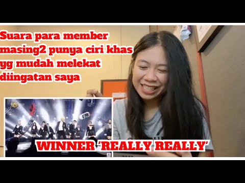 Winner 'REALLY REALLY' | Desney Hanata Reaction (Vocal coach Lebay Indonesia Raya)