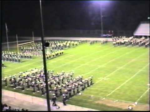 1992 Jackson High School Marching Band Blacklight Show