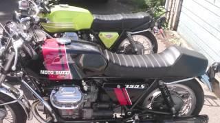 8. Moto Guzzi v750 sport and 750S