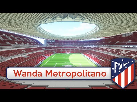 Minecraft stadium wanda metropolitano atltico madrid minecraft stadium wanda metropolitano atltico madrid download official atltico de madrid sciox Gallery