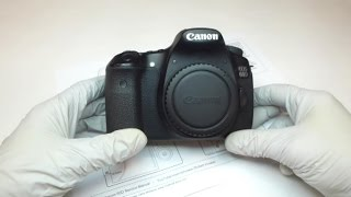 Repair your Canon 60D. This is part of a multi-video series showing you how to work on and repair a Canon EOS 60D camera. This video will show you how to open the camera up.You can download, or print, the screw layout diagram that is shown in this video at: http://www.thebobfactor.com/Canon%2060D%20Diagrams/Canon%2060D%20Screw%20Layout%20Diagram%201.PDF