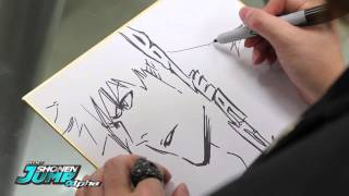 BLEACH: Tite Kubo OFFICIAL Creator Sketch Video By SHONEN JUMP Alpha