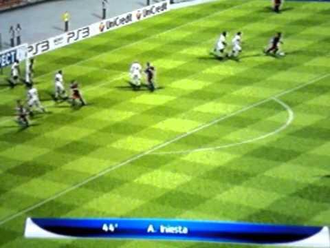 PES 2011 PS2 – Internazionale x Barcelona  – UEFA Champions League – Final