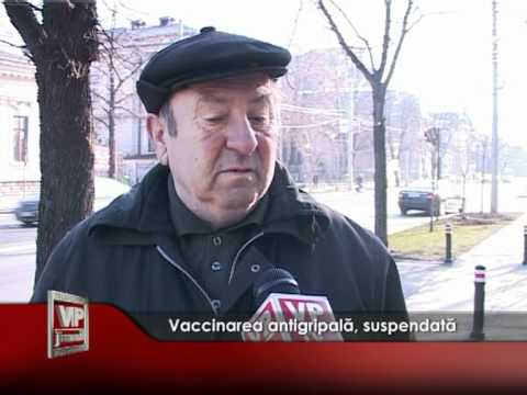Vaccinarea antigripală, suspendată