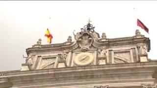 S.M. el Rey guarda un minuto de silencio por el atentado de Londres