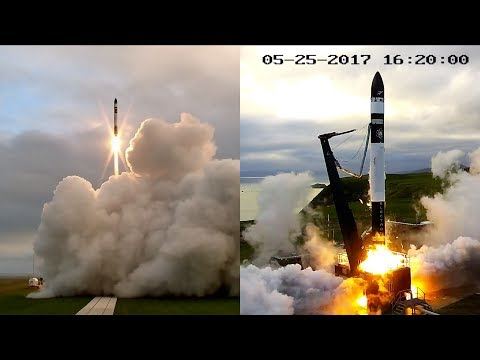 Electron rocket first flight, It's a Test 2017