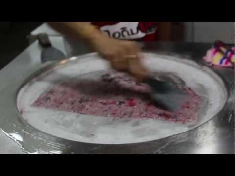 Instant Ice Cream Rolls Phuket, Thailand