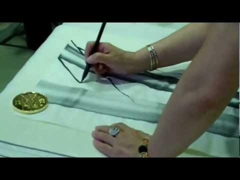 Japanese Ink Painting at Art Shed Brisbane (видео)