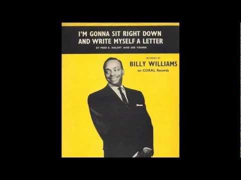 Tekst piosenki Billy Williams - I'm Gonna Sit Right Down and Write Myself a Letter po polsku