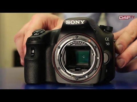 Sony Alpha 58 SLT-A58 Handson Praxis-Test deutsch | CHIP