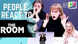 """Video PEOPLE REACT TO """"THE ROOM"""" (Film Academics + Students) MP3, 3GP, MP4, WEBM, AVI, FLV April 2019"""