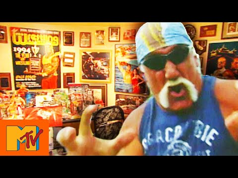 Hulk Hogan's Ultimate WWE Memorabilia Room & André The Giant Boots | Cribs