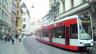 Halle an der Saale Germany  city photos gallery : Trams in Halle (Saale), Germany: Trams