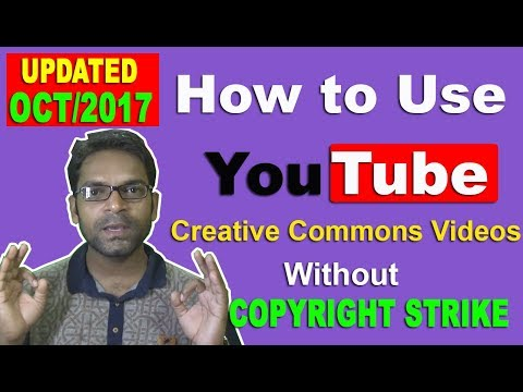 How To Use Youtube Creative Commons Videos (Updated Oct 2017)