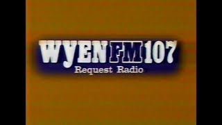 """Here's a commercial for WYEN FM 107 (""""Request Radio,"""" licensed to neighboring Des Plaines - and today Spanish-language WPPN, """"Amor 106.7""""), featuring snippets of such tracks as """"No Tell Lover"""" by Chicago, """"Last Time I Saw Him"""" by Diana Ross, """"Forever In Blue Jeans"""" by Neil Diamond, and """"Too Much Heaven"""" by the Bee Gees.The """"Request Radio"""" slogan referred to the station playing music requested by listeners.This aired on local Chicago TV on Saturday, September 22nd 1979 during the 6:00pm to 7:00pm timeframe.About The Museum of Classic Chicago Television:The Museum of Classic Chicago Television's primary mission is the preservation and display of off-air, early home videotape recordings (70s and early 80s, primarily) recorded off of any and all Chicago TV channels; footage which would likely be lost if not sought out and preserved digitally. Even though (mostly) short clips are displayed here, we preserve the entire broadcasts in our archives - the complete programs with breaks (or however much is present on the tape), for historical purposes. For information on how to help in our mission, to donate or lend tapes to be converted to DVD, and to view more of the 4,700+ (and counting) video clips available for viewing in our online archive, please visit us at:http://www.fuzzymemories.tv/index.php?contentload=donate"""