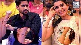 Video Naga Chaitanya & Samantha's Cute LOVE Tattoo MP3, 3GP, MP4, WEBM, AVI, FLV Juni 2018